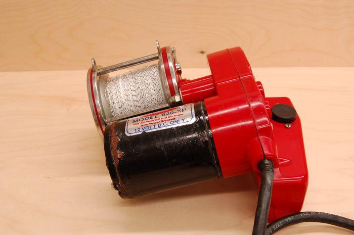 Elec Tra Mate Penn Senator Electric Motor Fishing Reel Ebay